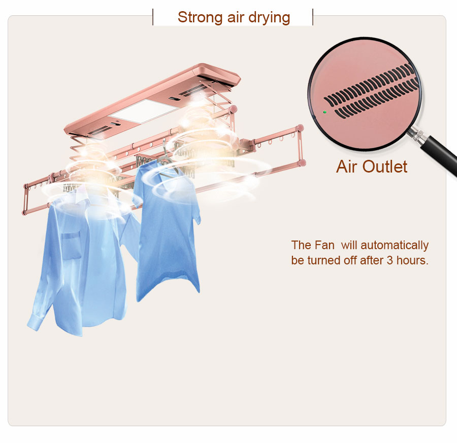 ceiling mounted clothes drying rack